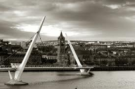 Peace Bridge. Derry/Londonderry