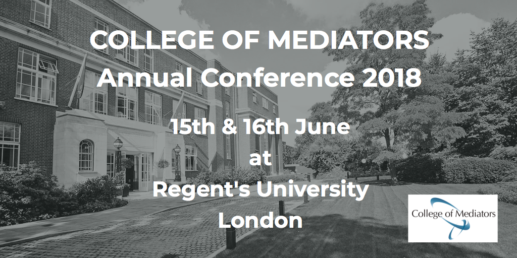 College of Mediators Annual Conference