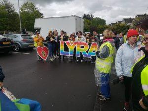 Lyra's walk group